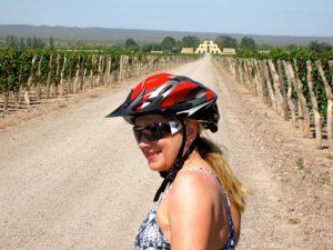 Cycling to Catena Zapata