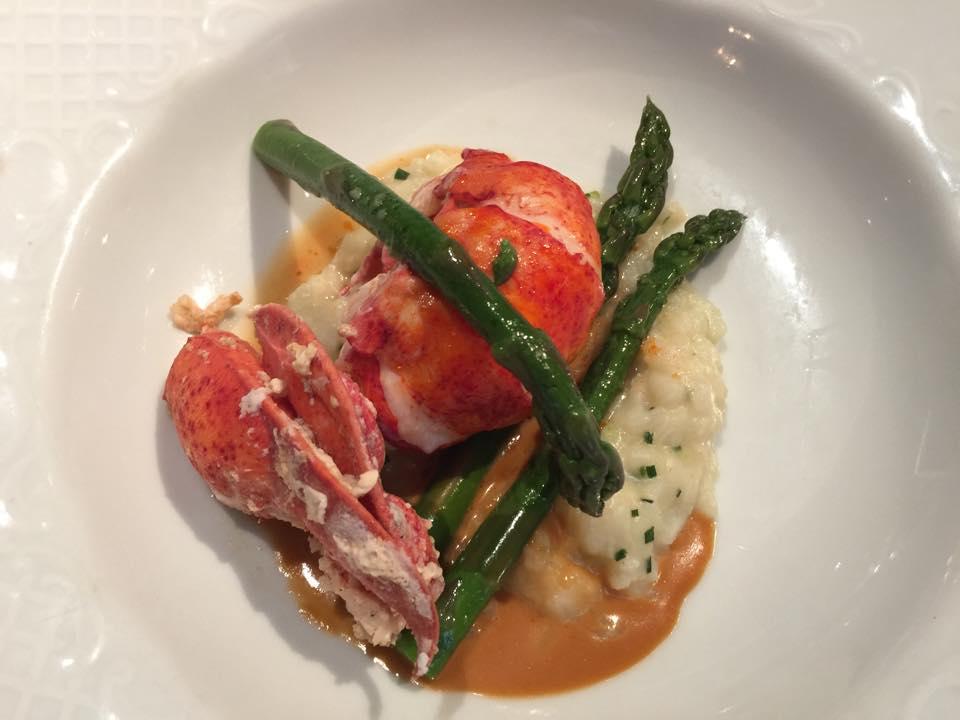 Gourmet food on our Ballroom Dance Cruise